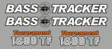 Replacement Bass Tracker 1800 TF Logo Set