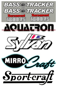 Replacement & Reproduction Boat Logos