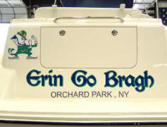 Bayliner 285 Transom Name